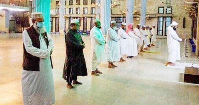 মসজিদে ২০ জন নামাজ পড়ার সিদ্ধান্ত বাস্তবসম্মত নয়